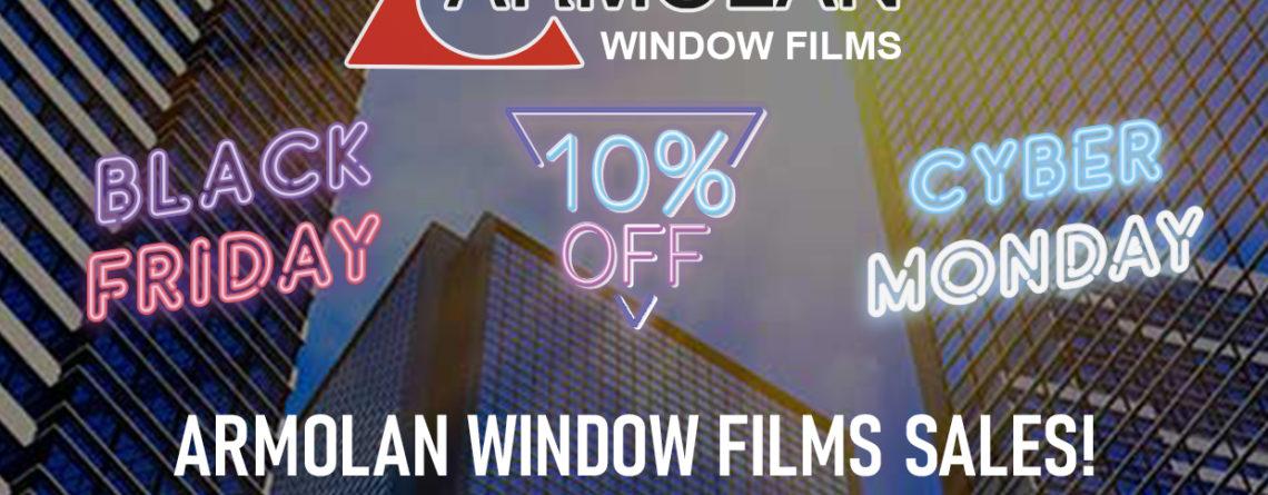 Black Friday sale Window Films
